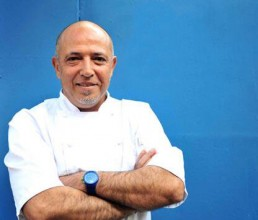 Image of Dean Gassabi, the man behind Maison Bleue restaurants in Edinburgh
