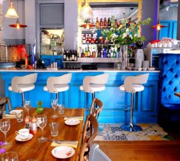 Picture of Maison Bleue Le Bistrot Interior -French Restaurant Edinburgh